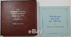 The Washington Crossing the Delaware Sterling Silver Proof Medal, Franklin Mint