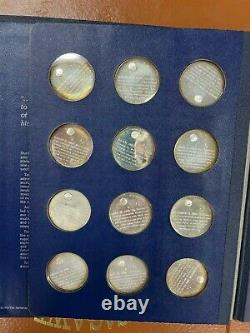 Vintage America In Space Complete Sterling Silver Proof Set (24 Coins)