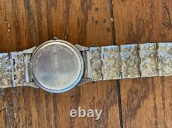 Vintage Frederic Remington Museum Watch 925 Sterling Silver The Franklin Mint