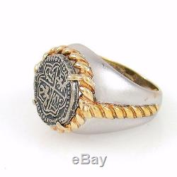 Vintage Sterling Silver The Atocha Treasure Ring Franklin Mint 1991 Sz 6 RS M