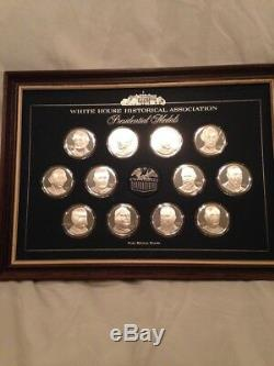 White House Historical Association Presidential Medals 36 Sterling Silver